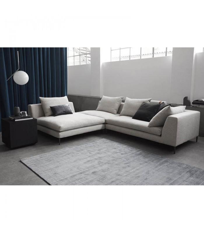 Peak l shaped modular sofa mountain teak for L shaped modular homes