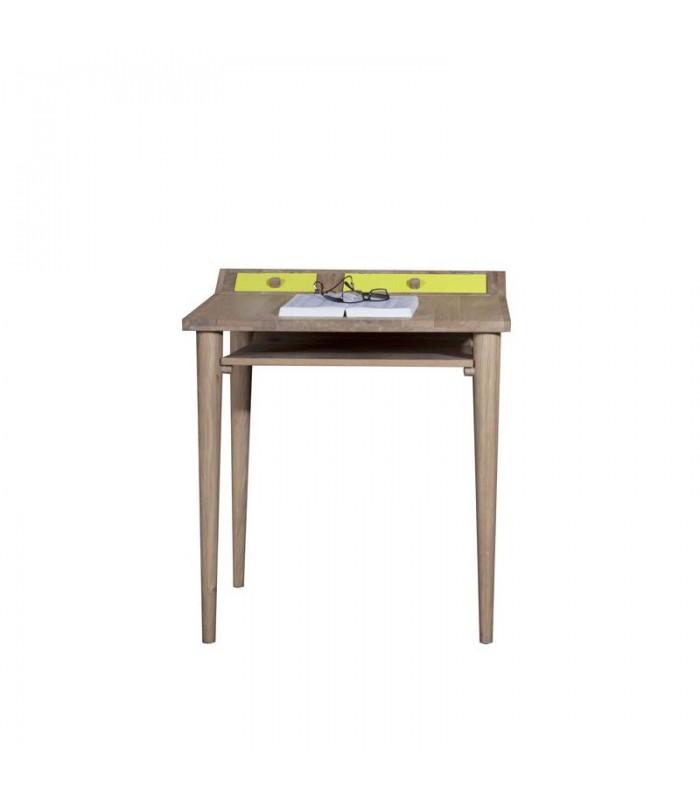Origami Desk With 2 Flip Doors Mountain Teak