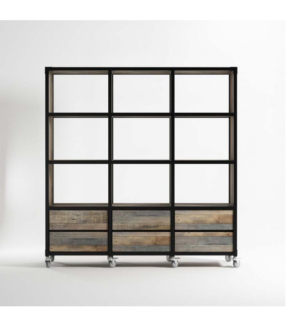 Atelier K 6 Drawer 9 Compartment Storage Unit