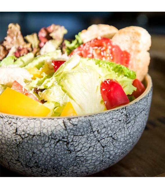 Natural Bamboo Salad Bowl (M)