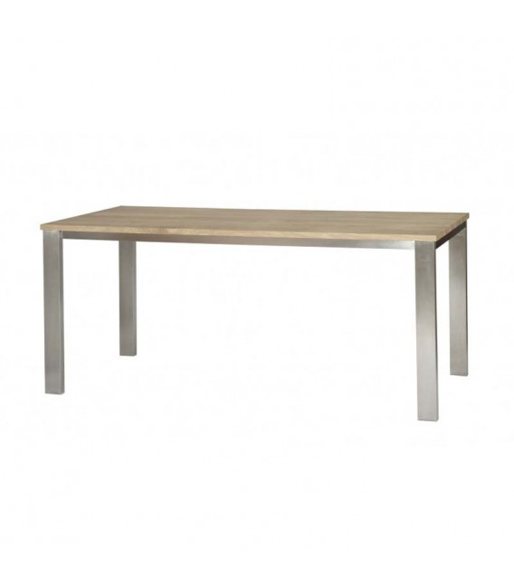 White Lofty Dining Table