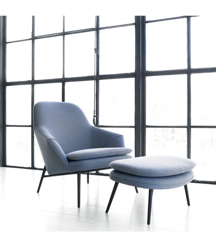 Hug Lounge Chair Mountain Teak