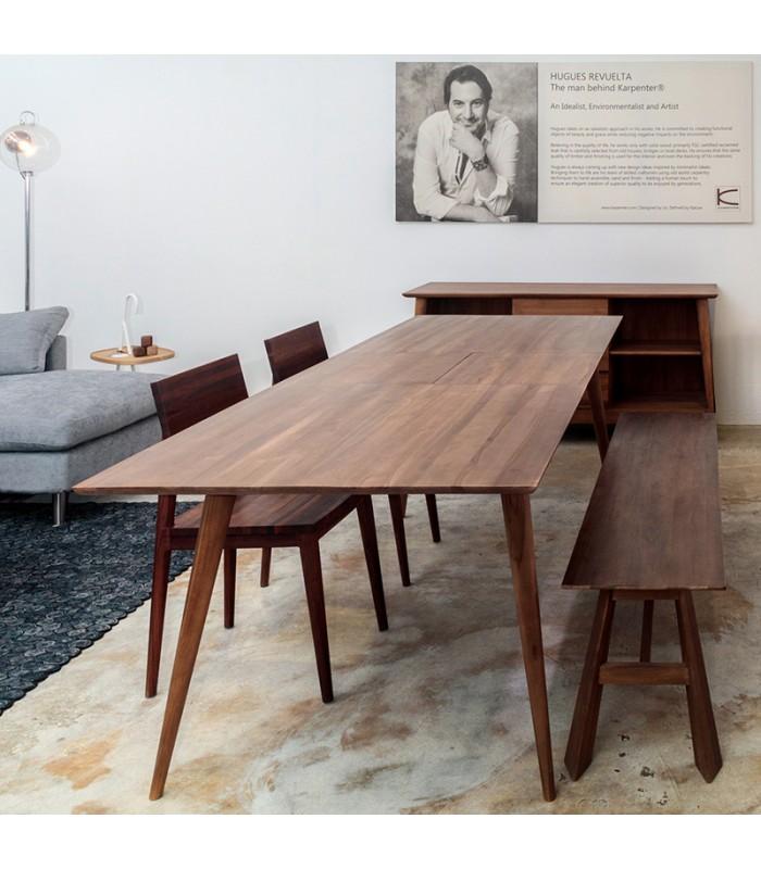 Vintage Extendable Dining Table - Mountain Teak