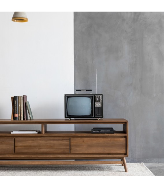 Twist Media Cabinet with 3 Drawers