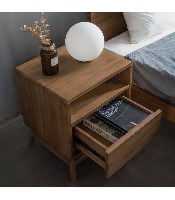 Twist 1-Drawer Bedside Table