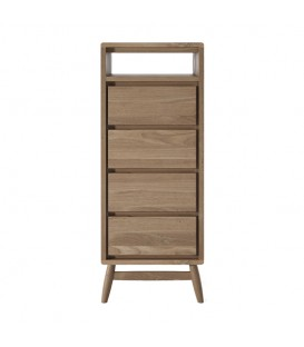 Twist 4-Drawer Tall Boy