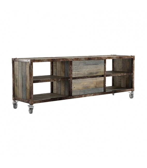 Atelier K TV Chest w/ 2 Central Drawers