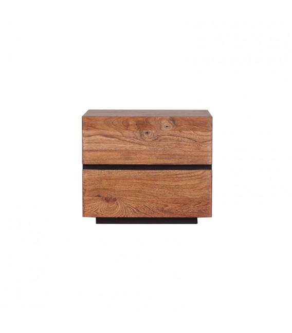 Mountain 2-Drawer Nightstand