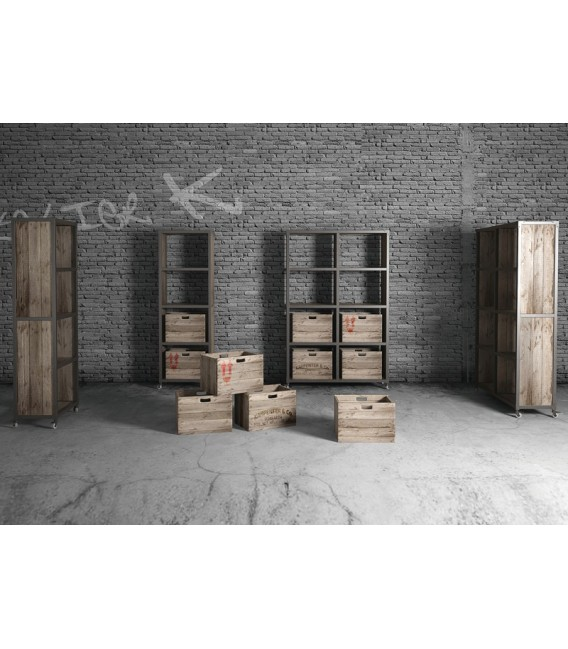 Atelier K 4 Compartment Storage Unit