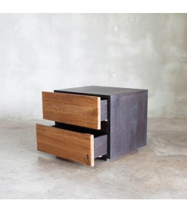 Mountain 2-Drawer Nightstand