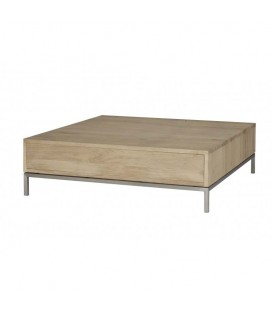 White Lofty 1-Drawer Coffee Table