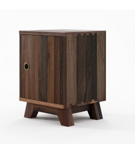 Brooklyn Bedside Table with Door