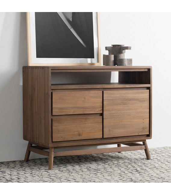 Twist 2-Drawer 1-Door Sideboard