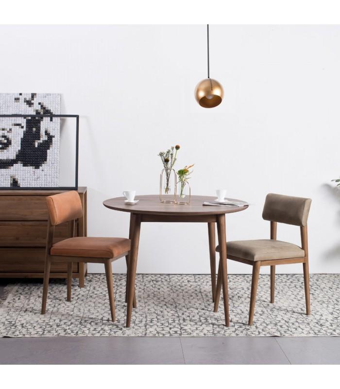 Vintage Round Dining Table Mountain Teak, Vintage Round Table