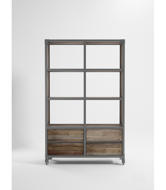 Atelier K 4 Drawer 6 Storage Unit