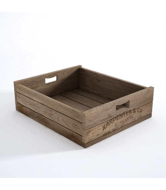 Atelier K Storage Crate Box (Flat)